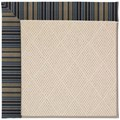Capel Rugs Creative Concepts White Wicker - Vera Cruz Ocean (445) Runner 2