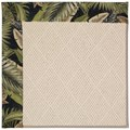 Capel Rugs Creative Concepts White Wicker - Bahamian Breeze Coal (325) Rectangle 3
