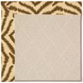 Capel Rugs Creative Concepts White Wicker - Couture King Chestnut (756) Rectangle 3