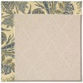 Capel Rugs Creative Concepts White Wicker - Cayo Vista Ocean (425) Rectangle 4