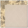Capel Rugs Creative Concepts White Wicker - Cayo Vista Graphic (315) Rectangle 4