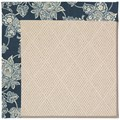 Capel Rugs Creative Concepts White Wicker - Bandana Indigo (465) Rectangle 5