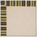 Capel Rugs Creative Concepts White Wicker - Vera Cruz Coal (350) Rectangle 6