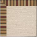 Capel Rugs Creative Concepts White Wicker - Weston Ginger (720) Rectangle 7