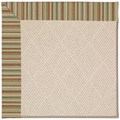 Capel Rugs Creative Concepts White Wicker - Dorsett Autumn (714) Rectangle 8