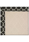 Capel Rugs Creative Concepts White Wicker - Arden Black (346) Rectangle 8' x 10' Area Rug