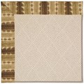 Capel Rugs Creative Concepts White Wicker - Java Journey Chestnut (750) Rectangle 8