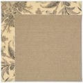 Capel Rugs Creative Concepts Sisal - Cayo Vista Graphic (315) Octagon 4