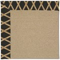 Capel Rugs Creative Concepts Sisal - Bamboo Coal (356) Octagon 4
