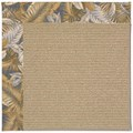 Capel Rugs Creative Concepts Sisal - Bahamian Breeze Ocean (420) Octagon 6