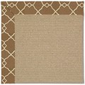 Capel Rugs Creative Concepts Sisal - Arden Chocolate (746) Octagon 6