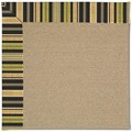Capel Rugs Creative Concepts Sisal - Vera Cruz Coal (350) Octagon 8