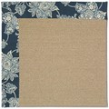 Capel Rugs Creative Concepts Sisal - Bandana Indigo (465) Rectangle 5