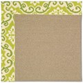 Capel Rugs Creative Concepts Sisal - Shoreham Kiwi (220) Rectangle 6
