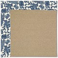 Capel Rugs Creative Concepts Sisal - Batik Indigo (415) Rectangle 7