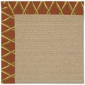 Capel Rugs Creative Concepts Sisal - Bamboo Cinnamon (856) Rectangle 7
