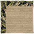 Capel Rugs Creative Concepts Sisal - Bahamian Breeze Coal (325) Rectangle 8