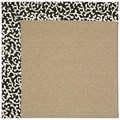 Capel Rugs Creative Concepts Sisal - Coral Cascade Ebony (385) Rectangle 8
