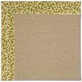 Capel Rugs Creative Concepts Sisal - Coral Cascade Avocado (225) Rectangle 9