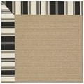 Capel Rugs Creative Concepts Sisal - Down The Lane Ebony (370) Rectangle 12