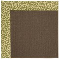 Capel Rugs Creative Concepts Java Sisal - Coral Cascade Avocado (225) Octagon 4