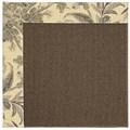 Capel Rugs Creative Concepts Java Sisal - Cayo Vista Graphic (315) Octagon 4