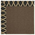 Capel Rugs Creative Concepts Java Sisal - Bamboo Coal (356) Octagon 4