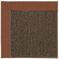 Capel Rugs Creative Concepts Java Sisal - Linen Chili (845) Octagon 4