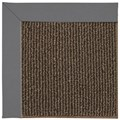 Capel Rugs Creative Concepts Java Sisal - Canvas Charcoal (355) Octagon 6