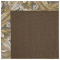 Capel Rugs Creative Concepts Java Sisal - Bahamian Breeze Ocean (420) Octagon 6