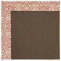 Capel Rugs Creative Concepts Java Sisal - Imogen Cherry (520) Octagon 6