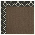 Capel Rugs Creative Concepts Java Sisal - Arden Black (346) Octagon 10
