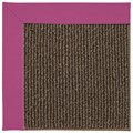 Capel Rugs Creative Concepts Java Sisal - Canvas Hot Pink (515) Octagon 10