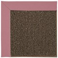 Capel Rugs Creative Concepts Java Sisal - Canvas Coral (505) Octagon 12