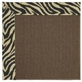 Capel Rugs Creative Concepts Java Sisal - Wild Thing Onyx (396) Runner 2