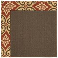 Capel Rugs Creative Concepts Java Sisal - Shoreham Brick (800) Runner 2