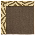 Capel Rugs Creative Concepts Java Sisal - Couture King Chestnut (756) Rectangle 3
