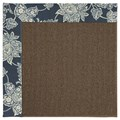 Capel Rugs Creative Concepts Java Sisal - Bandana Indigo Blue (465) Rectangle 5