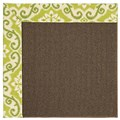 Capel Rugs Creative Concepts Java Sisal - Shoreham Kiwi (220) Rectangle 6