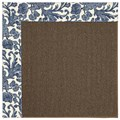 Capel Rugs Creative Concepts Java Sisal - Batik Indigo (415) Rectangle 7
