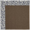 Capel Rugs Creative Concepts Java Sisal - Coral Cascade Navy (450) Rectangle 7