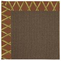 Capel Rugs Creative Concepts Java Sisal - Bamboo Cinnamon (856) Rectangle 7