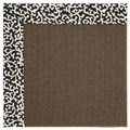 Capel Rugs Creative Concepts Java Sisal - Coral Cascade Ebony (385) Rectangle 8