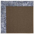 Capel Rugs Creative Concepts Java Sisal - Paddock Shawl Indigo (475) Rectangle 8