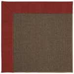 Capel Rugs Creative Concepts Java Sisal - Canvas Cherry (537) Rectangle 8' x 8' Area Rug