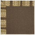Capel Rugs Creative Concepts Java Sisal - Java Journey Chestnut (750) Rectangle 9