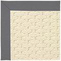 Capel Rugs Creative Concepts Sugar Mountain - Canvas Charcoal (355) Octagon 6