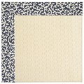 Capel Rugs Creative Concepts Sugar Mountain - Coral Cascade Navy (450) Octagon 12
