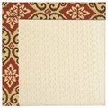 Capel Rugs Creative Concepts Sugar Mountain - Shoreham Brick (800) Runner 2