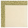 Capel Rugs Creative Concepts Sugar Mountain - Coral Cascade Avocado (225) Rectangle 4